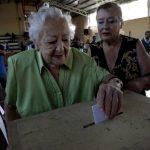Ciudadanos participaban este 15 de diciembre en las elecciones presidenciales en Chile. Foto/ Reuters