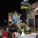 La procesión de la Inmaculada Concepción de María recorrió las principales calles de la ciudad.