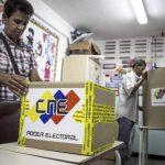 Los venezolanos eligen hoy a alcaldes. FOTO EDH Agencias.