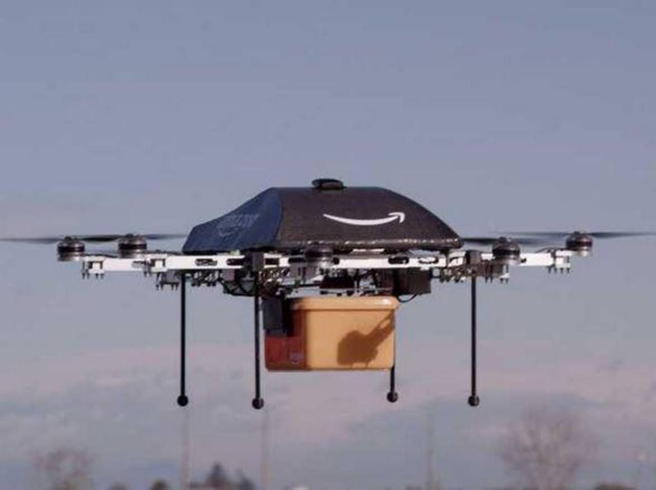Amazon planea entregar pedidos mediante drones
