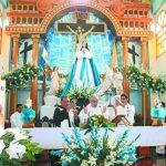 Las fiestas fueron del 8 al 15 de diciembre, en honor a la Inmaculada Concepción de María. Foto EDH / Roberto Zambrano