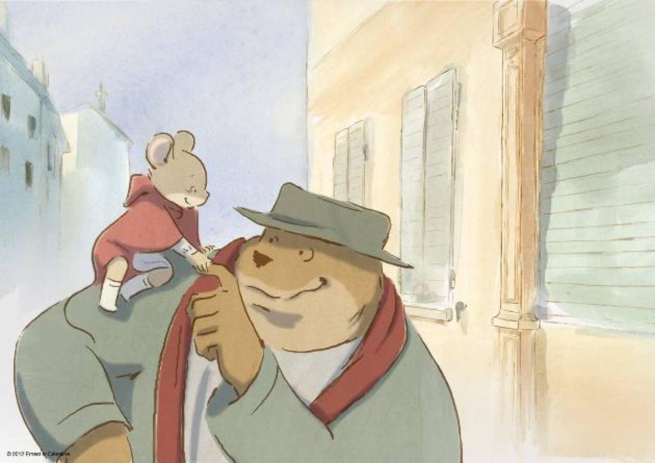 """Imagen de la cinta animada """"Ernest and Celestine""""."""