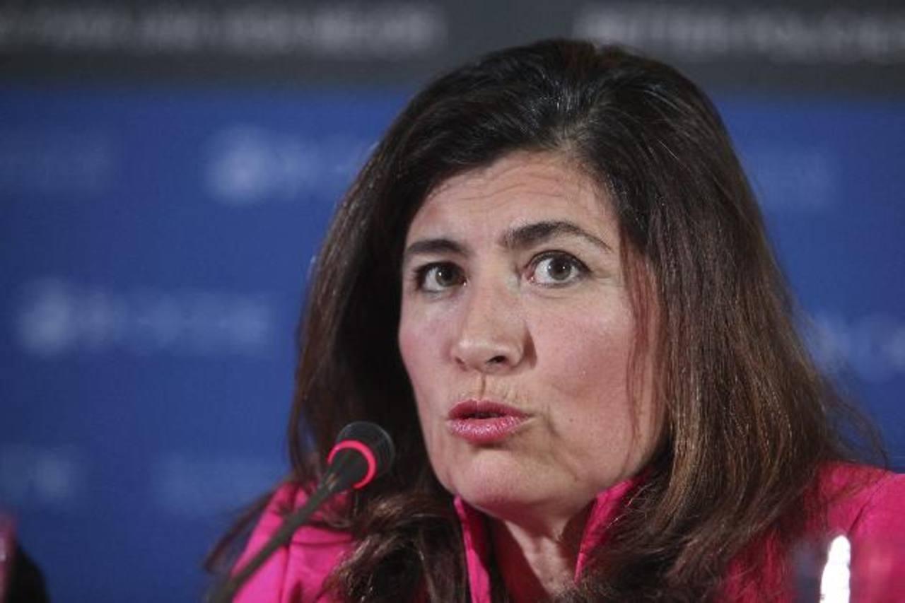 Gabriela Ramos, directora del Gabinete de la Oficina del Secretario General de la OCDE. Foto EDH