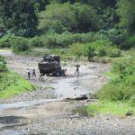 La voz sobre que la MS de Changallo y Joya Grande extorsiona a camiones areneros se ha corrido hasta Santo Tomás.