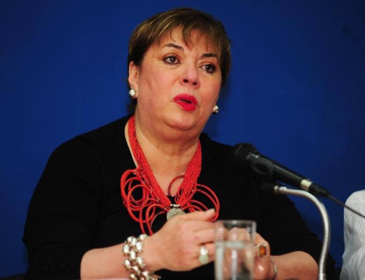 Titular de Cultura, Ana Magdalena Granadino