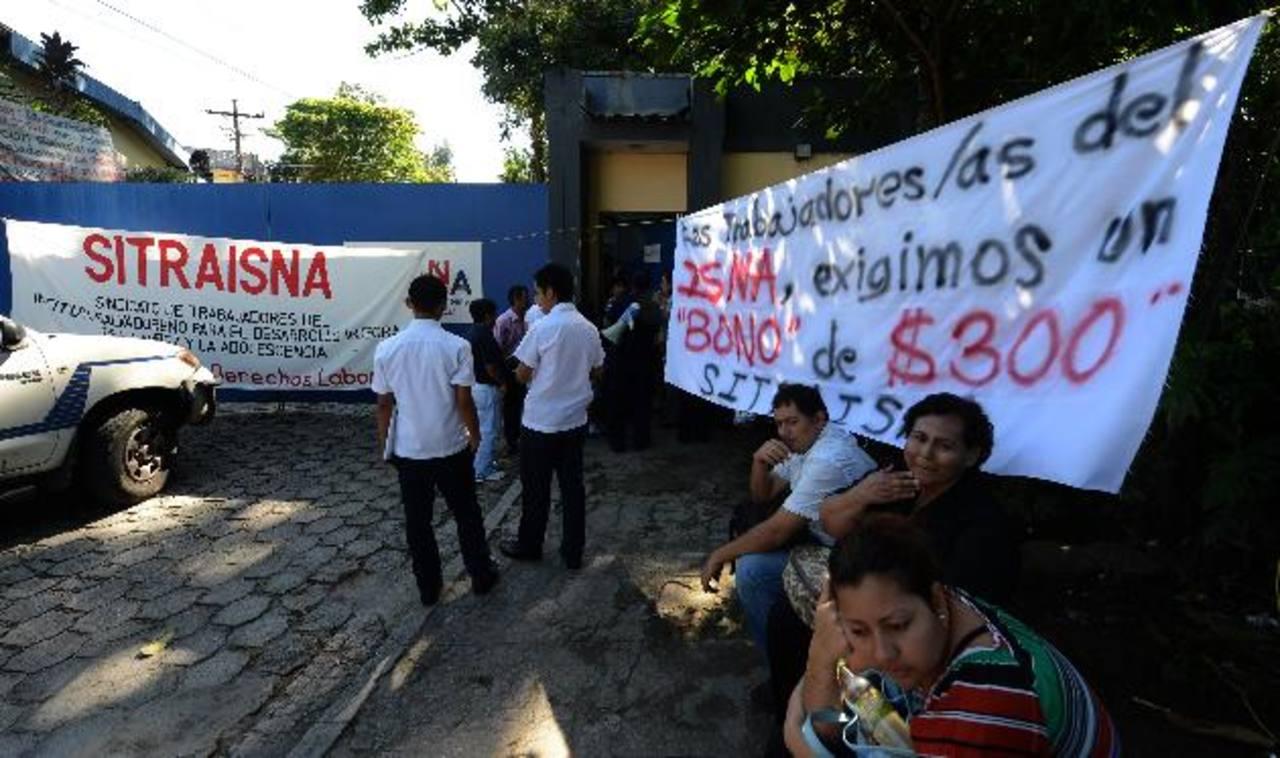 El ISNA. FOTO EDH Archivo.