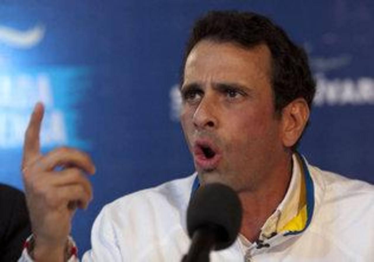 Henrique Capriles es el gobernador de Miranda.