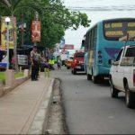 La alcaldía municipal de Usulután informó que implementará un plan de reordenamiento del transporte público. Foto/ Archivo