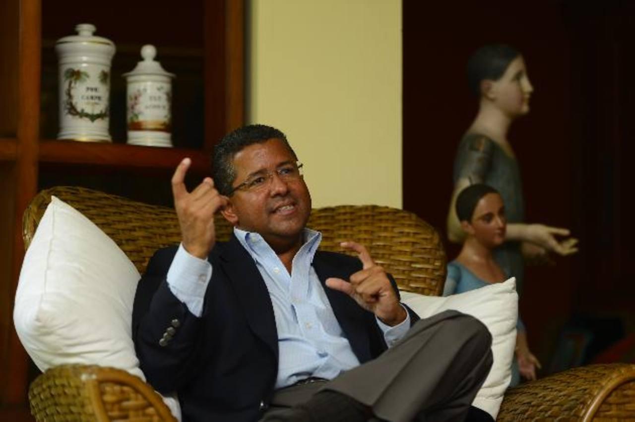 El expresidente le exige a Funes que presente las pruebas que dice tener en su contra. foto edh