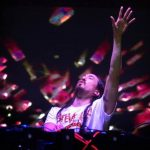 Steve Aoki durante su presentación en el Cifco. Su concierto electrónico encantó a la audiencia. fotos EDH/ César Avilés