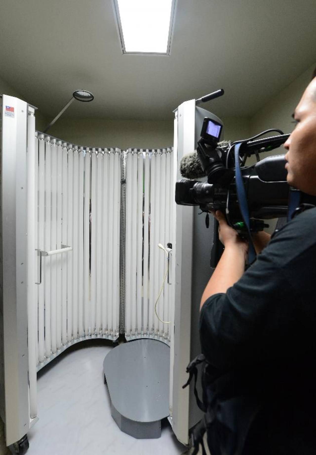 El centro de tratamiento de fototerapia en el hospital nacional Rosales fue inaugurada ayer por las autoridades del Minsal y la embajada de Taiwán. foto edh/ claudia castillo