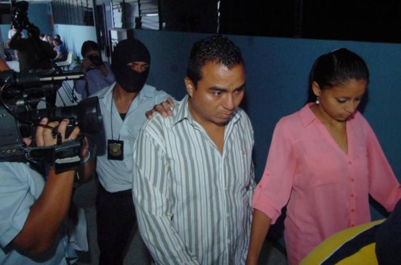 Moisés Callejas y Wendy Pérez. FOTO EDH Archivo.