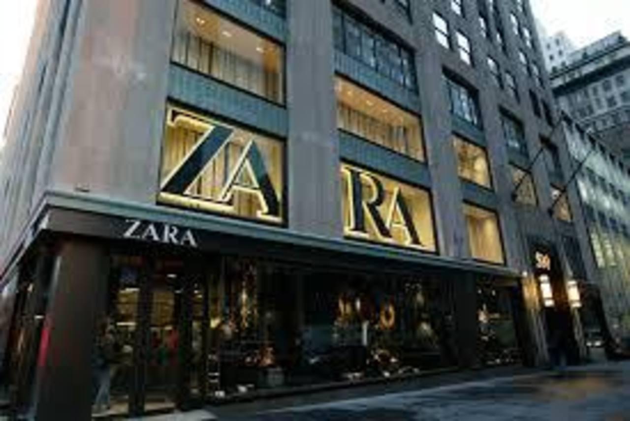 Una de las ocho tiendas de Zara, en Nueva York.
