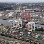 Foto de archivo del puerto de Seattle, en Estados Unidos. Las economías ricas, lideradas por EE.UU. encabezarán el crecimiento global en 2014, según el BM.