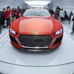 """El modelo """"Sport Quattro Laserlight"""", de Audi, equipado con el sistema de autoconducción A7 que evita colisiones, advierte en cambio involuntario de carril y ángulo muerto."""