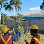 Todo un equipo multidisciplinario examina gases, agua, sismicidad, temperatura y otros elementos en el área de Chaparrastique