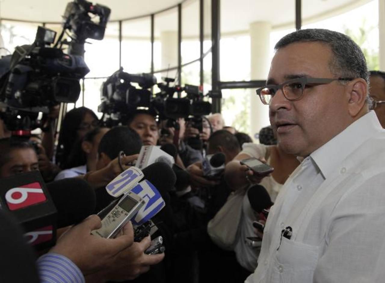 El presidente Mauricio Funes cuestionó hoy a las declaraciones del exmandatario Francisco Flores sobre el donativo de Taiwán. Foto/ Archivo