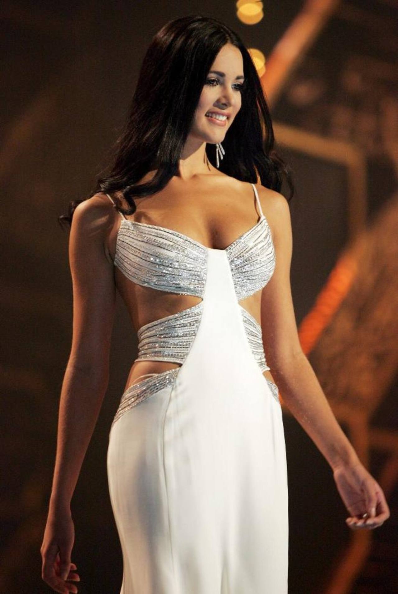 Mónica Spears durante su participación en Miss Universo 2005. Fotos EDH /