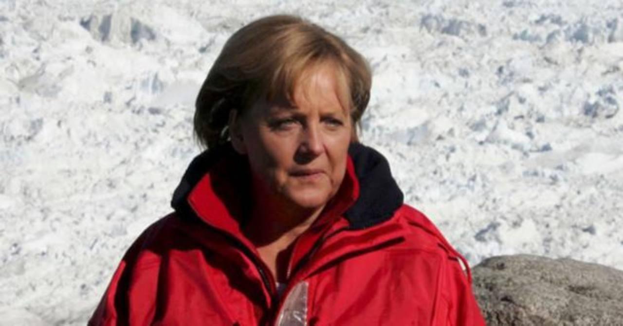 Angela Merkel se fracturó la cadera esquiando y anuló sus compromisos