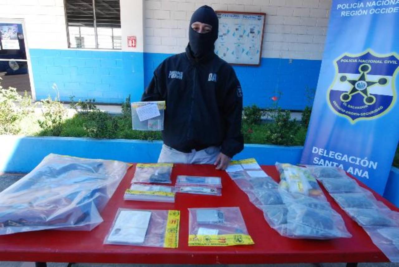La droga incautada tiene un valor de $1,000, aproximadamente. Foto EDH / Cristian Díaz