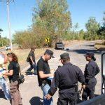 Agentes investigan homicidio en La Unión. Foto EDH / Insy Mendoza