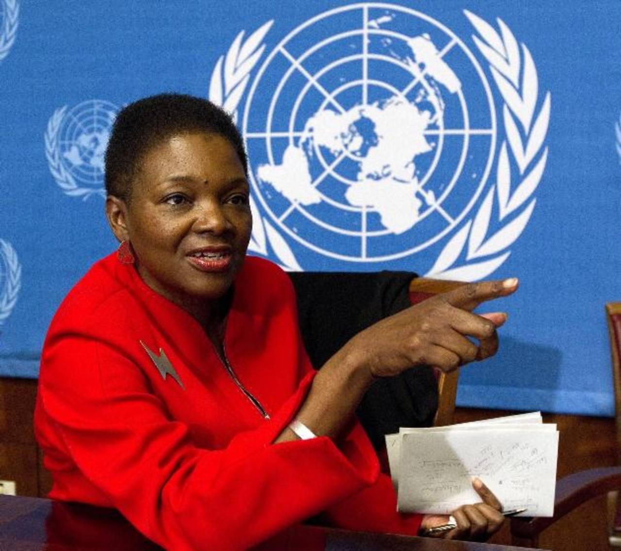 Valerie Amos es la subsecretaria general para asuntos humanitarios de la ONU.