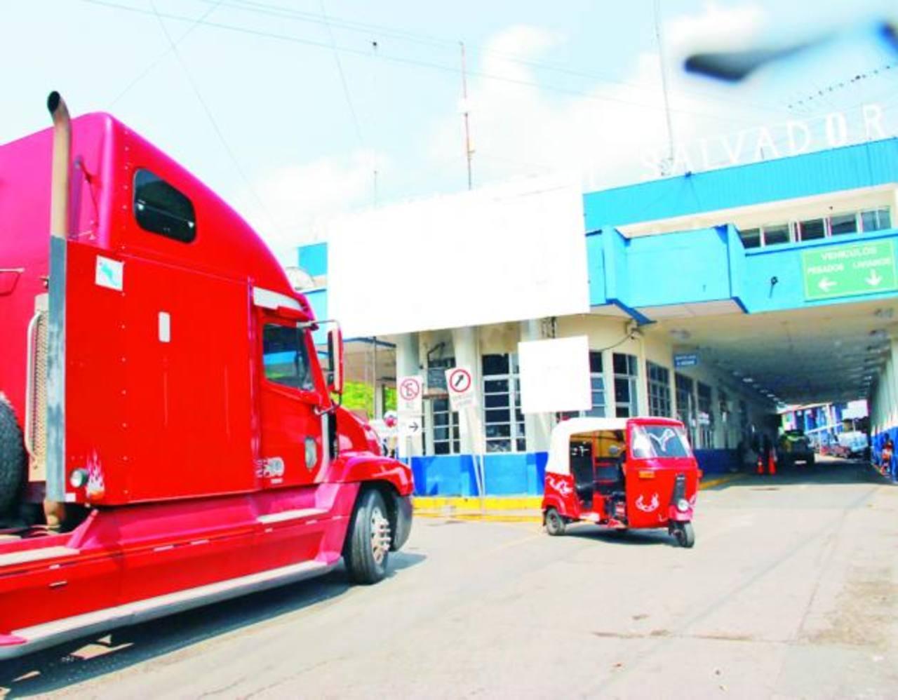 Fronteras como El Amatillo se vuelven fundamentales para el país. foto edh / ARCHIVO