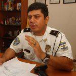 El inspector Fredman Castaneda está destacado como jefe de la subdelegación de la Policía situada en el municipio de Zaragoza, departamento de La Libertad. Foto EDH / Archivo