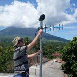 Persiste actividad del volcán Chaparrastique
