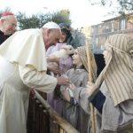 El Papa Francisco visitó la iglesia de San Alfonso María de Ligorio. Foto/ AP