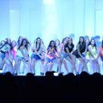 El talento y la belleza se combinaron a la perfección en la primera coreografía, titulada Pool Party. fotos EDH / Marvin Recinos.