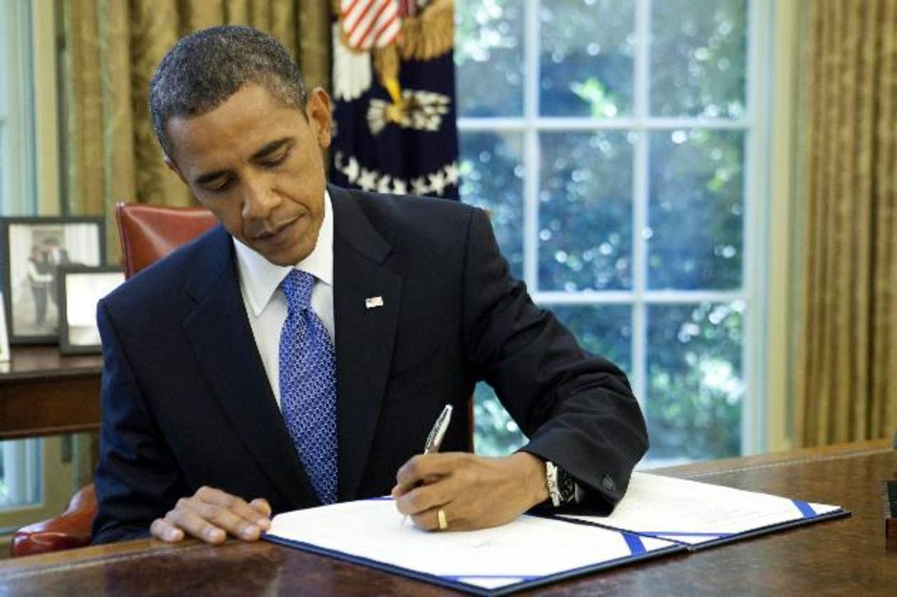 Obama firmó en 2010 la extensión del Seguro de Emergencia por Desempleo. Foto EDH / Archivo