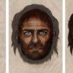 Así habría sido la apariencia de un cazador-recolector de hace 7,000 años con ojos azules y piel morena. Foto tomada de internet