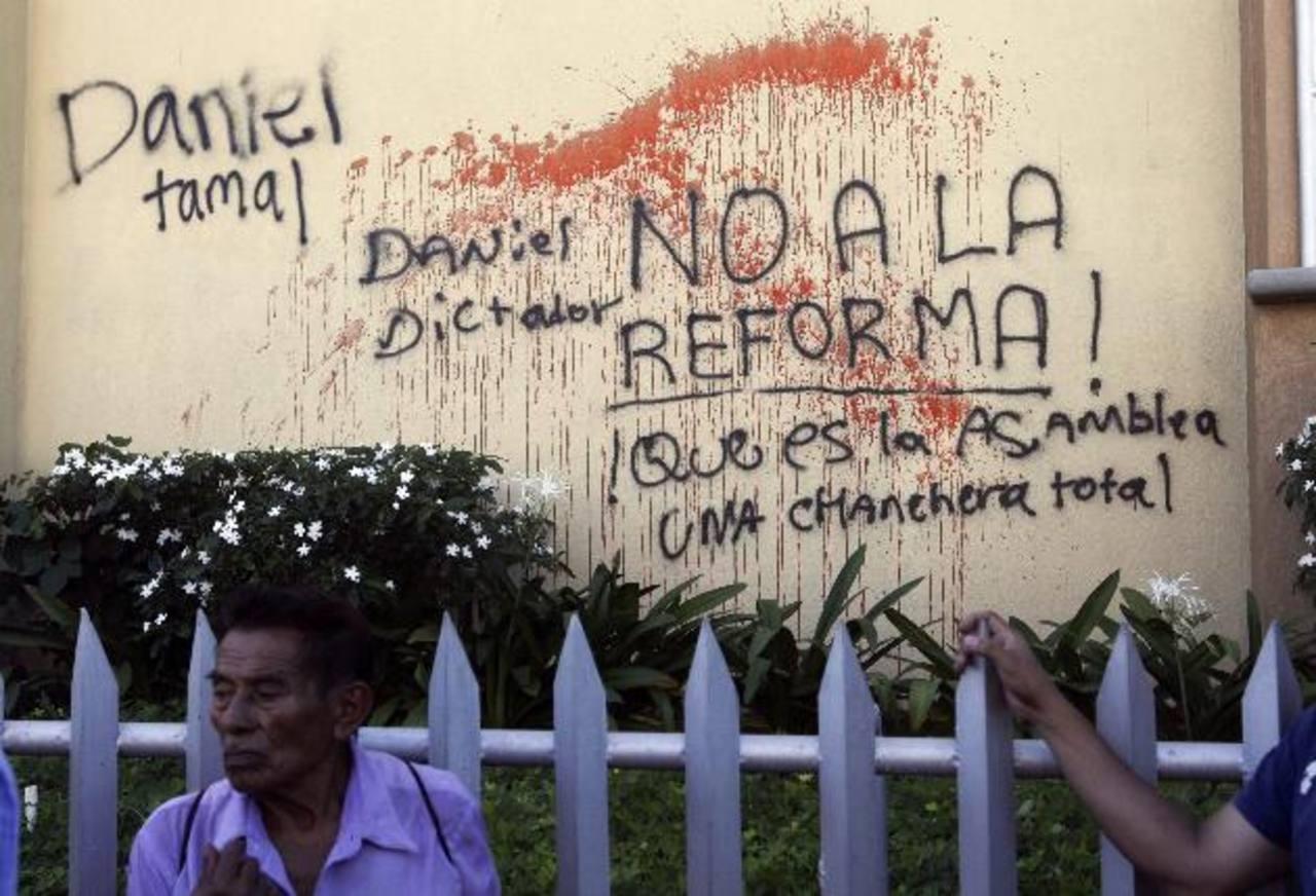 Diversos sectores han rechazado la decisión de Ortega de quedarse en el poder. edh / archivo