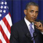 Presidente Barack Obama durante discurso.
