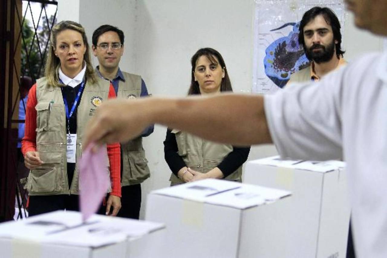 Los observadores internacionales estarán destacados en todo el país el próximo 2 de febrero, en el que más de tres millones están llamados a votar. f. edh/archivo