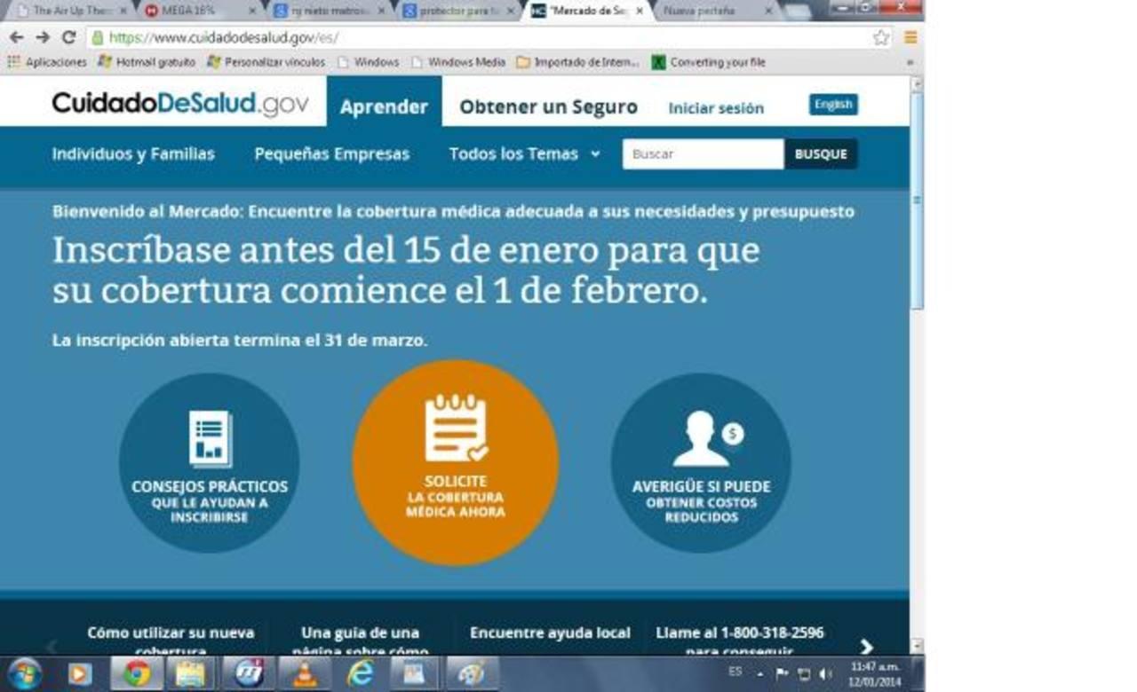 El Gobierno de Barack Obama afronta más problemas luego de reparar el polémico sitio web para la reforma de salud. foto edh / internet