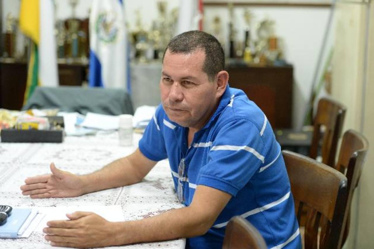 Pedro Rodríguez director del Instituto Nacional de Apopa y miembro del Codines. foto edh / marvin recinos