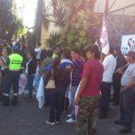 Sindicalistas impiden acceso a la Alcaldía de San Salvador
