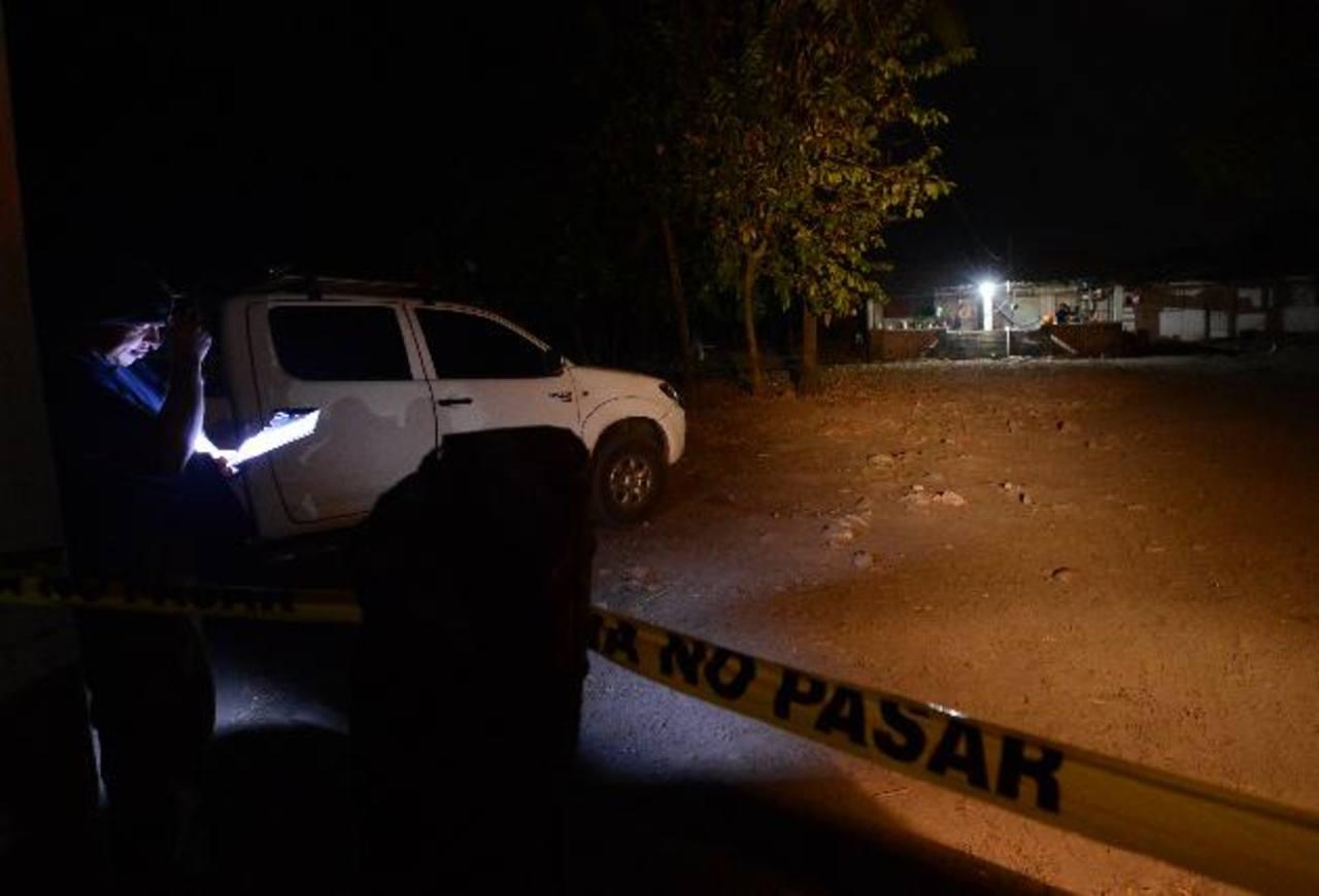 El ataque en el que murieron seis personas en Tacuba, Ahuachapán, ha sido la masacre que ha sumado más víctimas desde que se inició la supuesta tregua entre las maras. Foto EDH / Archivo