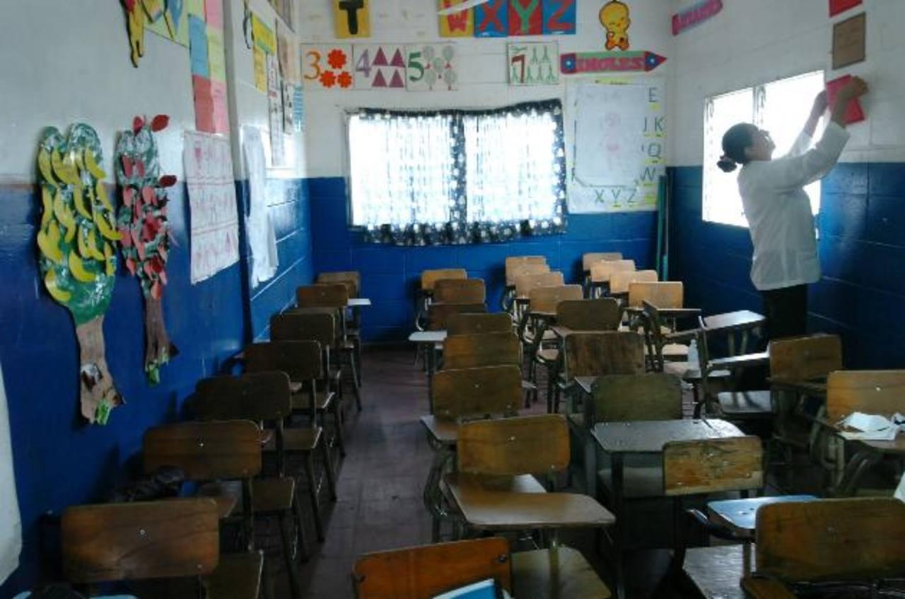 Gremiales de educadores Simeduco y Bases Magisteriales reiteraron el llamado al Mined para que entregue este mes el presupuesto escolar. Foto/ Archivo