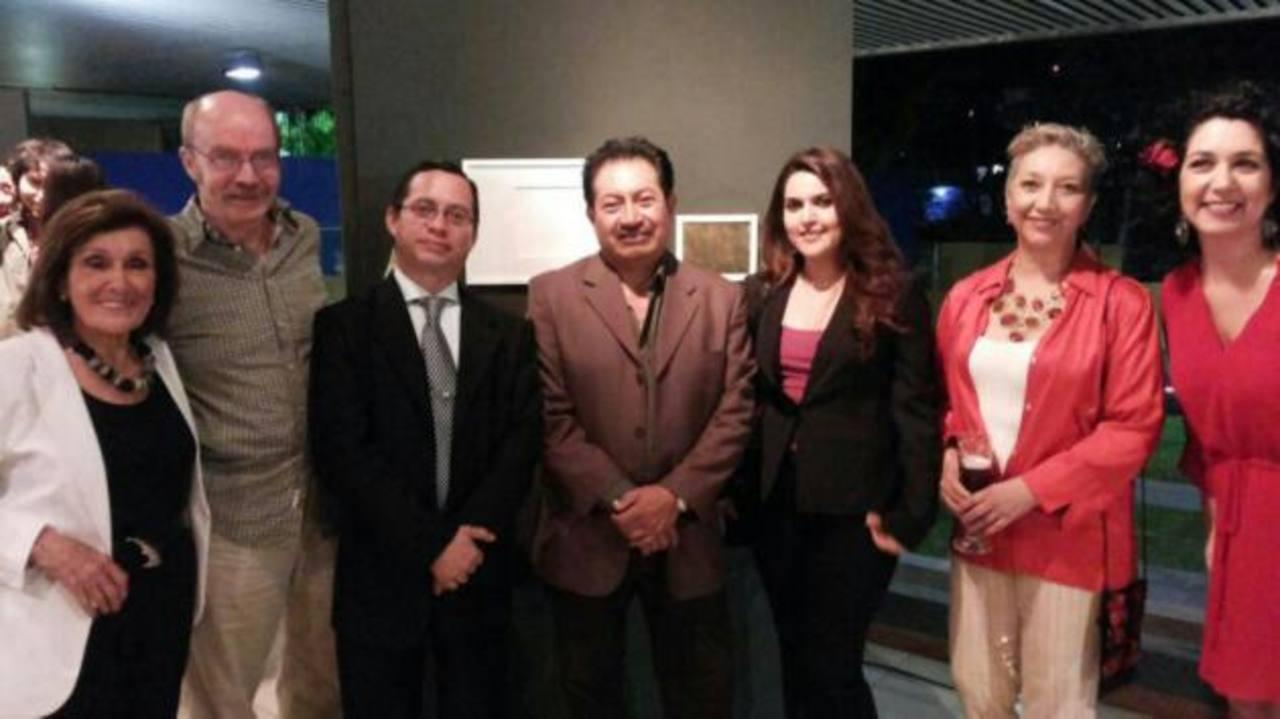 Nicole Shwarts, Miguel Martino, Giovanni Gil, Augusto Crespín y su esposa, Katya Romero, y Catalina del Cid.