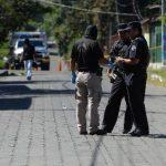 Julio César Marroquín murió ayer en Colón, en un nuevo ataque armado de pandilleros contra policías. Foto EDH / Jaime Anaya