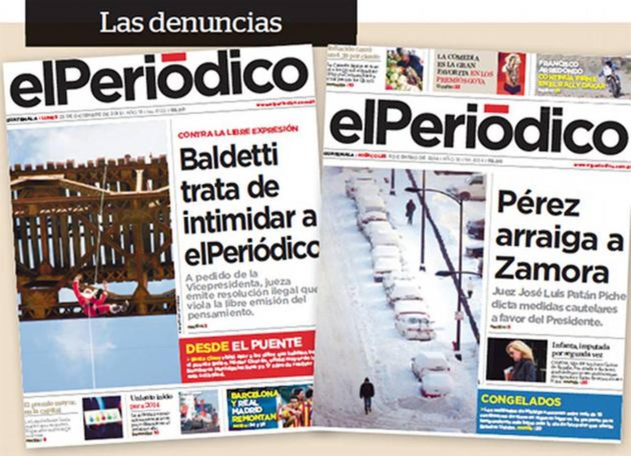 """La delegación de la SIP analizará """"in situ la situación que involucra a altas autoridades del país y al director del diario. foto edh / internet"""