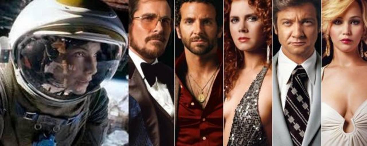 """Gravity y """"American Hustle"""" las más nominadas."""