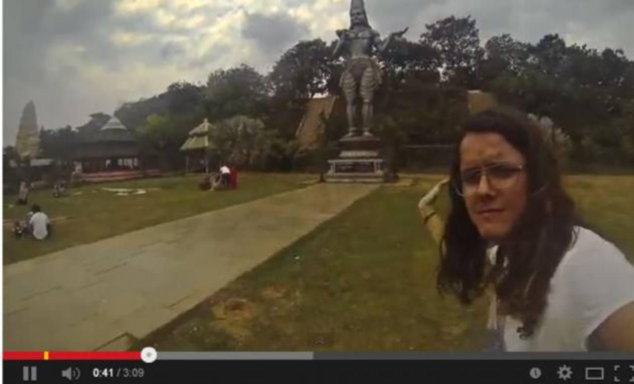Video: Italiano registra viaje por el mundo en tres minutos