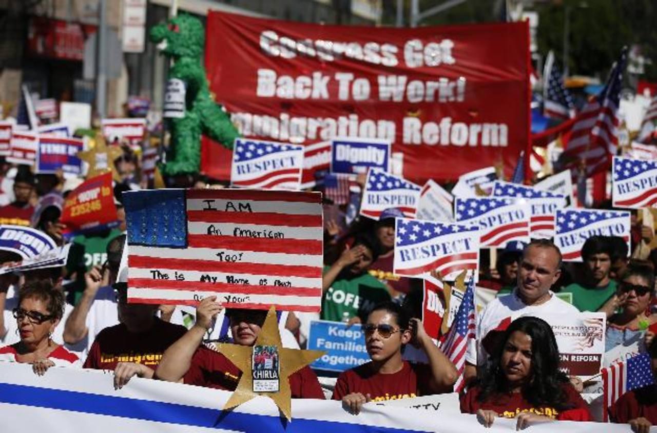 Defensores de la reforma migratoria están a la expectativa de que la ley sea avalada en este 2014. Foto/ Archivo