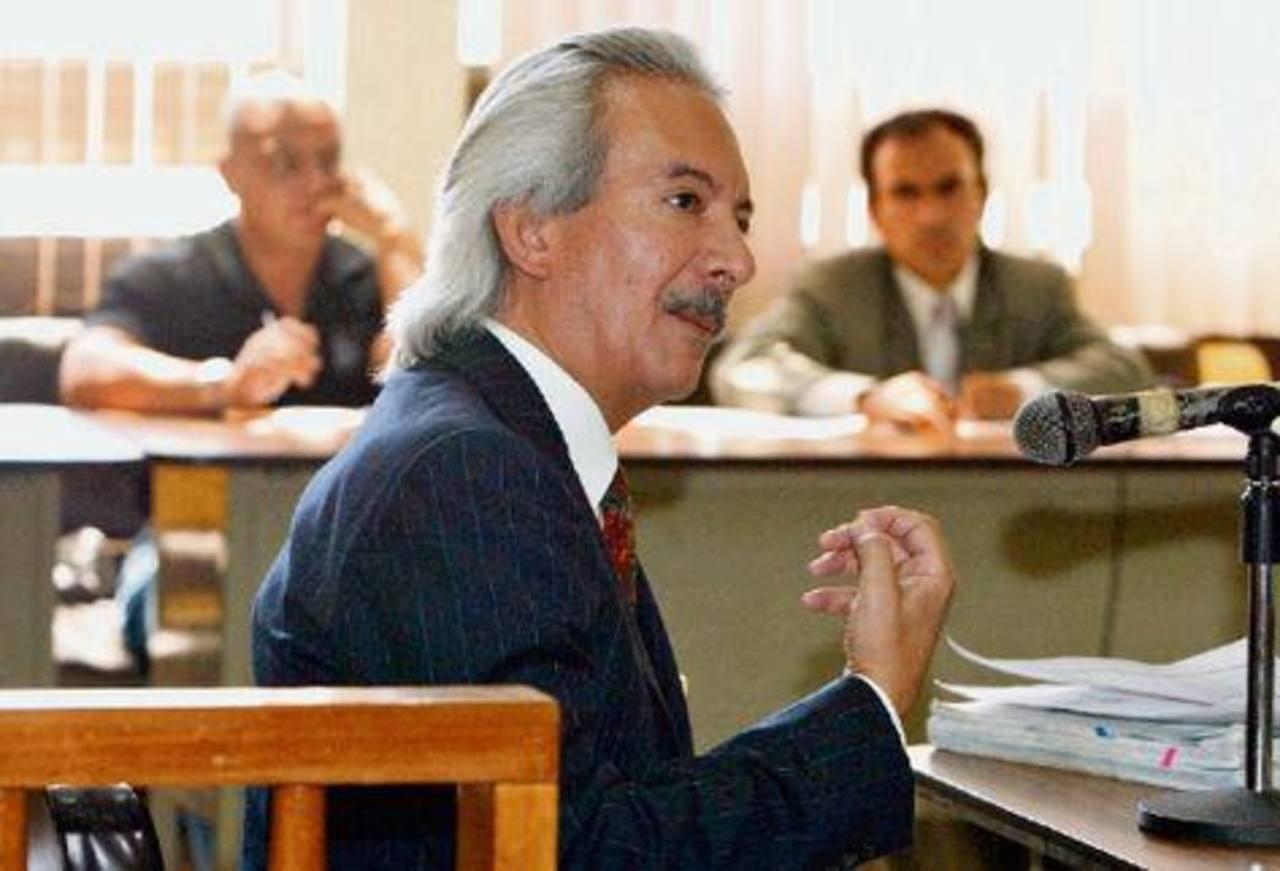 José Rubén Zamora, director de El Periódico, afronta una demanda del presidente Otto Pérez Molina. foto edh / internet