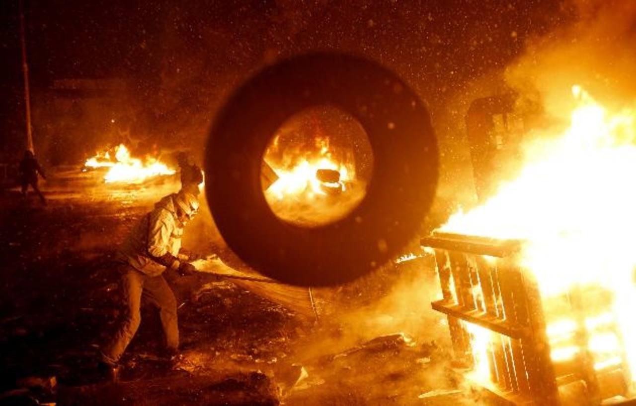Fotos: Ucrania, mueren 2 en enfrentamientos con policía