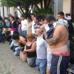 Entre los detenidos hay dos cabecillas de una pandilla que opera en la zona.